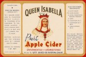 Retrolabel - Queen Isabella Pure Apple Cider