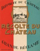 Retrolabel - Recolte du Chateau