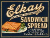 Retrolabel - Elkay Sandwich Spread