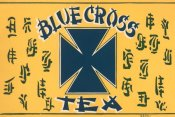 Retrolabel - Blue Cross Tea