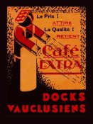 Retrolabel - Cafe Extra - Docks Vauclusiens