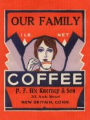 Retrolabel - Our Family Coffee