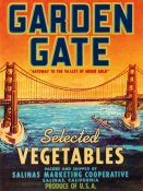 Retrolabel - Garden Gate Selected Vegetables