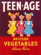 Retrolabel - Teen - Age Western Vegetables