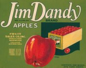 Retrolabel - Jim Dandy Brand Apples