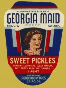 Retrolabel - Georgia Maid Sweet Pickles