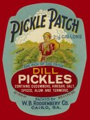 Retrolabel - Pickle Patch Dill Pickles