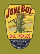 Retrolabel - June Boy Dill Pickles