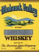Vintage Booze Labels - Mohawk Valley Bourbon Whiskey