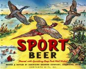 Vintage Booze Labels - Sport Beer
