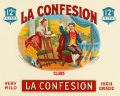 Vintage Booze Labels - La Confession Cigars