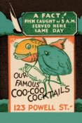 Vintage Booze Labels - Our Famous Coo-Coo Cocktails