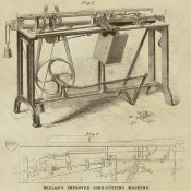Inventions - Millar's Improved Cork Cutting Machine