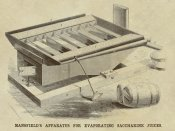 Inventions - Mansfield's Apparatus for Evaporating Saccharine Juices