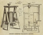Inventions - Tiffany's Improved Tile Making Machine