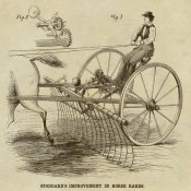 Inventions - Stoddard's Improvement in Horse Rakes