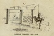 Inventions - Barber's Improved Farm Gate