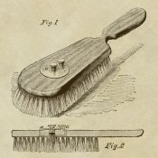 Inventions - Lotion Dispensing Hair Brush