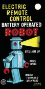 Retrobot - Electric Remote Control Battery Operated Robot