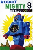 Retrobot - Robot Mighty 8 with Magic Color