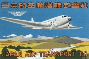 Retrotravel - Japan Air Transport Label