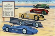Retrotravel - Famous Speed Racers on the Measured  Mile