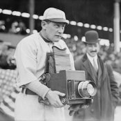 Vintage Sports - Baseball Player Becomes a Cameraman