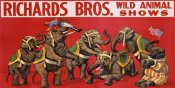 Anonymous - Richards Bros. Wild Animal Shows, ca. 1925