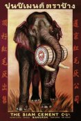 Vintage Elephant - The Siam Cement Company, Ltd. - Bangkok