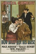 Unknown 20th Century American Illustrator - Movie Poster: How Billy Got His Raise