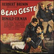 Unknown 20th Century American Illustrator - Movie Poster: Ronald Colman - Beau Geste