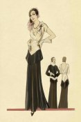 Vintage Fashion - Eveningwear in Black and White