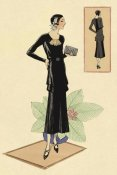Vintage Fashion - Modeles Originaur: Layered Black Dress