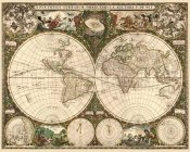 Frederick De Wit - World Map