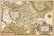 A. Ortelius - Map of Italy Near Florence