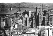Vintage San Francisco - Oakland Bay Bridge, San Francisco, CA #1