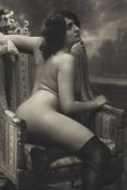 Vintage Nudes - On the Armchair