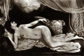 Vintage Nudes - Exotic Nude with Curtains