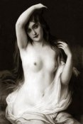 Vintage Nudes - A Long-Haired Nude