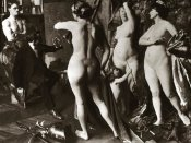 Vintage Nudes - In the Painter's Studio