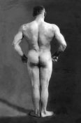 Vintage Muscle Men - Bodybuilder's Back