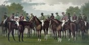 Currier and Ives - Celebrated winning horses and jockeys of the American turf