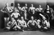 Vintage Wrestler - Team of Champion Russian Wrestlers