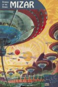 Frank R. Paul - Retrosci-fi: Storeis of the Stars - Floating Colonies of Mizar