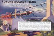 Retrosci-fi - Future Rocket Train