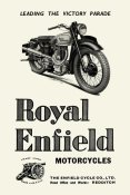 Unknown - Royal Enfield Motorcycles: Leading the Victory Parade