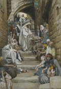 James Tissot - In the Villages the Sick Were Presented to Him, The Life of Our Lord Jesus Christ, 1886-1894