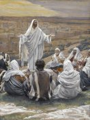 James Tissot - The Lord's Prayer, The Life of Our Lord Jesus Christ, 1886-1894