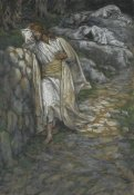 James Tissot - My Soul is Sorrowful unto Death, The Life of Our Lord Jesus Christ, 1886-1894