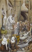 James Tissot - All the City Was Gathered at His Door, The Life of Our Lord Jesus Christ, 1886-1894
